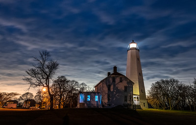 Dusk Over Sandy Hook Lighthouse 11/25/18
