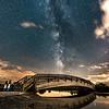 Milky Way Over Foot Bridge 6/26/17