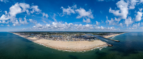 Point Pleasant Beach and Manasquan Inlet Panorama 7/20/18