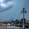 Lightning Over Avon-by-the-Sea Boardwalk 8/19/19