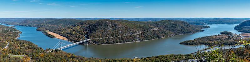 Bear Mountain Panorama 10/27/17