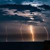 Lightning Over Ocean 8/7/16