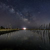 The Milky Way Reflecting In The Water At Old Marina 4/19/20