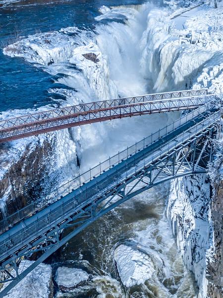 Frozen Paterson Falls 2/2/19