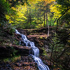 Silky Waterfall at Rickett's Glen State Park 10/13/16