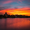 Sunset Over St. Catherine's in Spring Lake 5/20/18