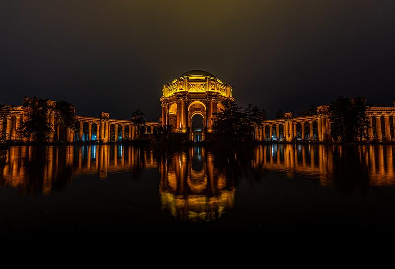 The Palace of Fine Arts, San Francisco, CA 11/6/19