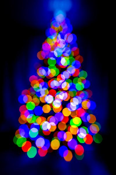 Christmas Tree Bokeh 12/26/19