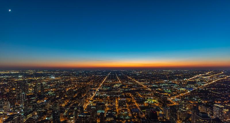 Chicago Sunset 9/13/18