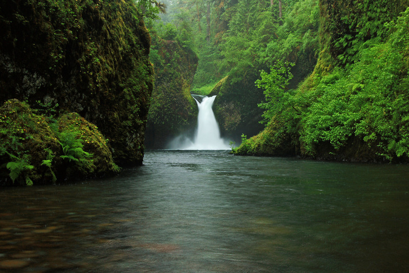 ~ Punch Bowl Falls ~