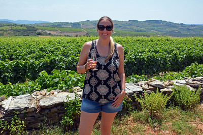 Drinking wine in Portugal