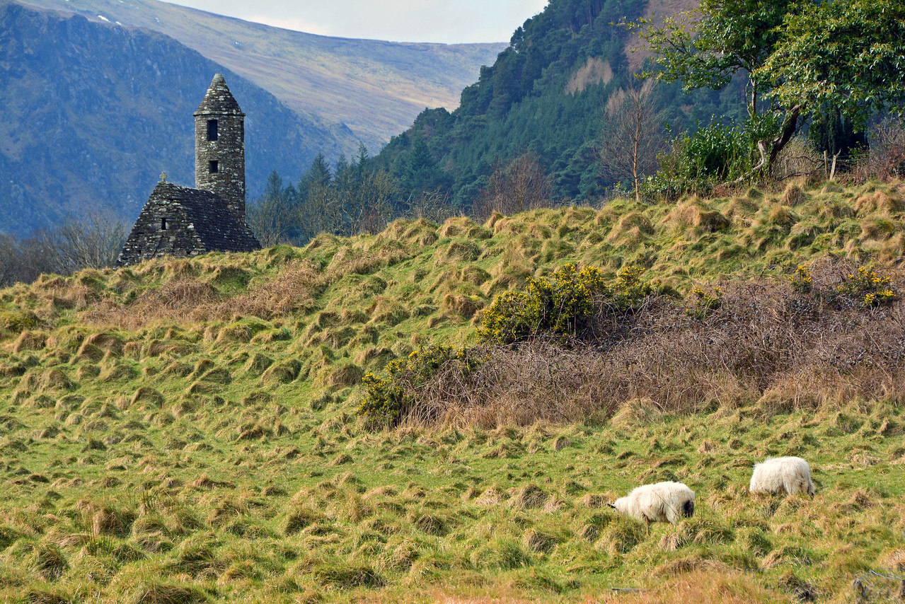 Wicklow National Park in Ireland