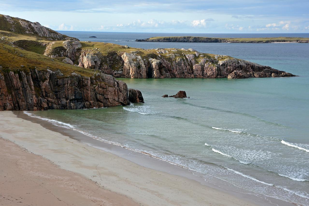 Beach Along the North Coast 500