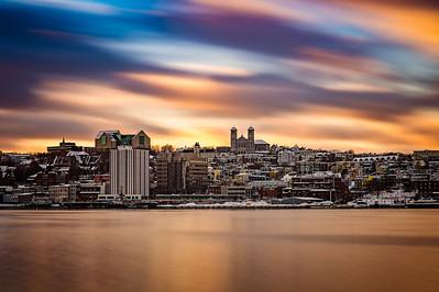 St. John's Sunset