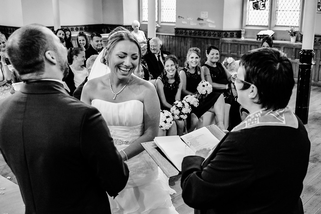 All smiles at the Altar