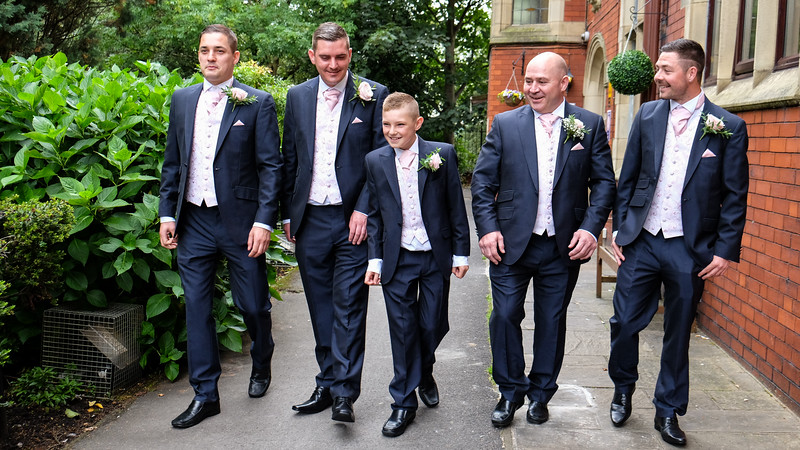 Grooms and Ushers
