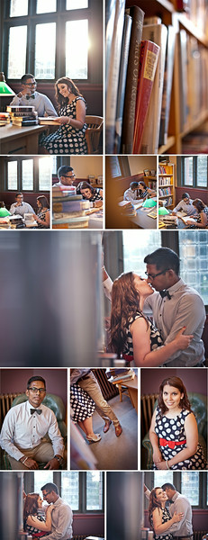 Wedding Photographer Montreal | Westmount Library Engagement Photos | Lindsay Muciy Photography and Videography
