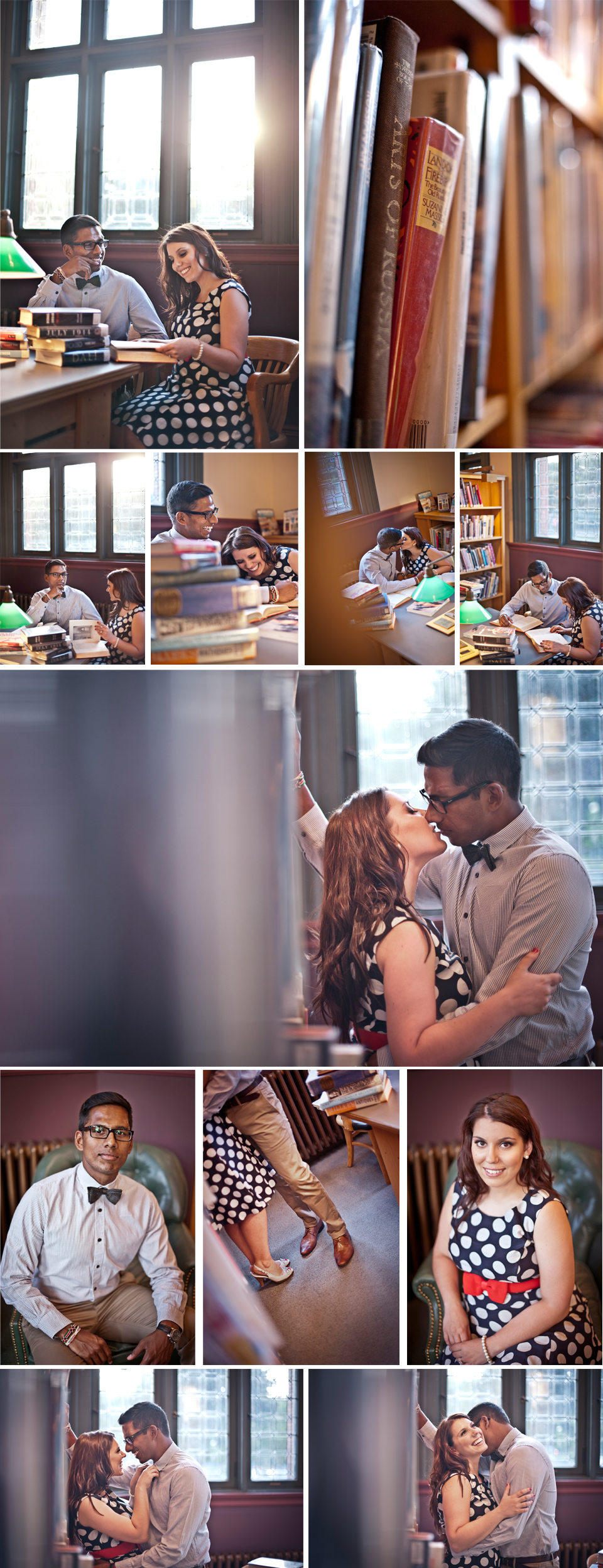 Wedding Photographer Montreal   Westmount Library Engagement Photos   Lindsay Muciy Photography and Videography