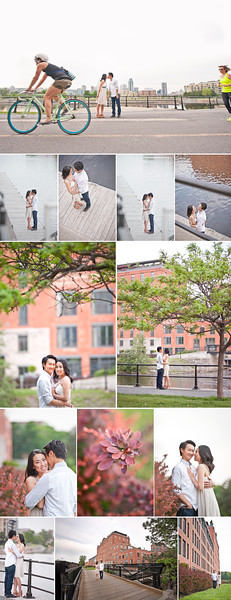 Montreal Wedding Photographer | Lachine Canal | Bike | Montreal Quebec | LMP Wedding Photography and Videography | Bike Paths