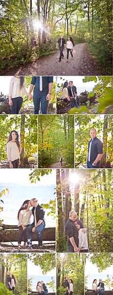 Wedding Photographer Montreal | Oka Beach Quebec | Forest | LMP Wedding Photography and Videography