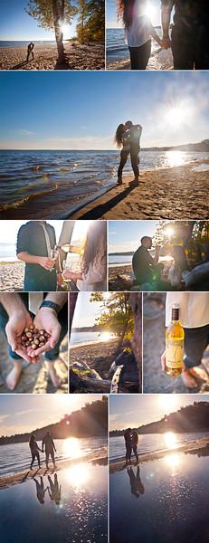 Wedding Photographer Montreal | Oka Beach Quebec | Lindsay Muciy Photography and Videography