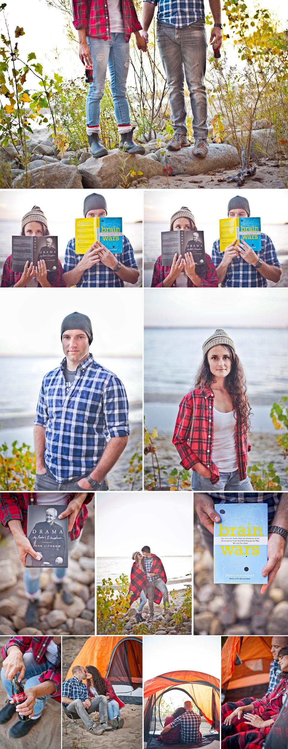 Wedding Photographer Montreal   Oka Beach Quebec   Camping   LMP Wedding Photography and Videography   Camping