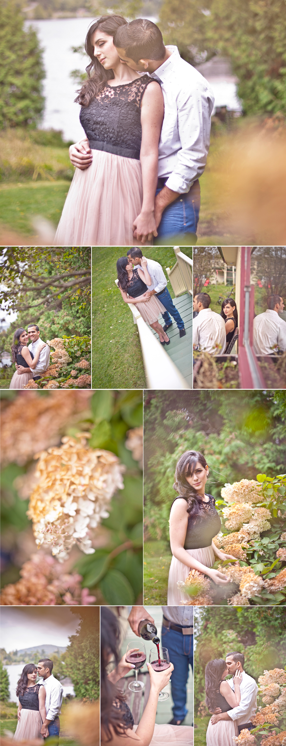 Montreal Wedding Photographer   Engagement Photo   Sainte-Agathe-des-Monts Quebec   Outdoor   LMP wedding photography and videography