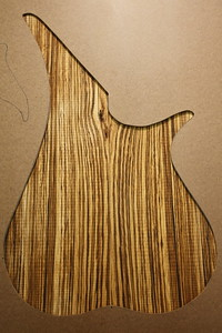 Zebrawood 1-001 Used on #018