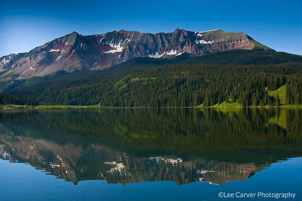 Trout Lake at  sunrise
