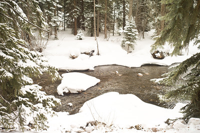 Spring Thaw at Gore Creek