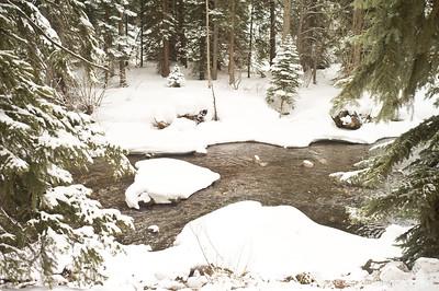 Spring Thaw at Gore Creek