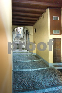 Stairs are a major part of traveling in Italy's seaside and lakeside towns in the north.