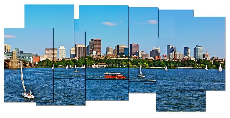 Boston Across the Charles River, MA
