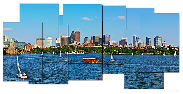 Boston Across the Charles River, MA