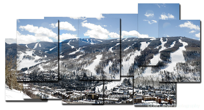 Vail Mountain Front Side
