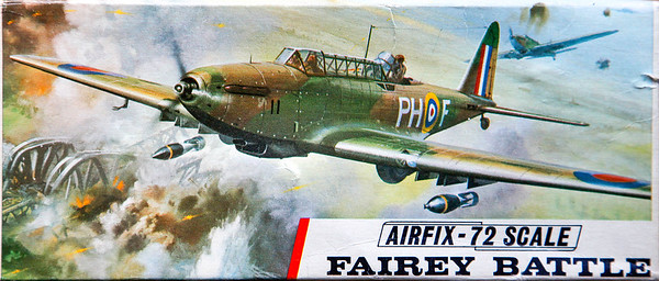 Fairey Battle WW11 light bomber.
