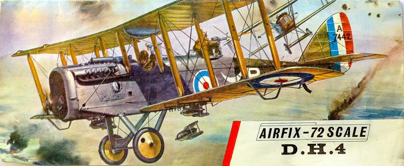 De Havilland D.H.4 WW1 fighter.