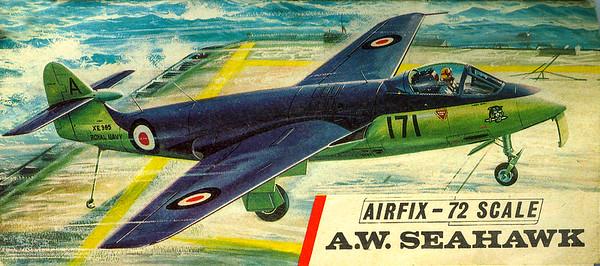 Seahawk Fleet Air Arm fighter.