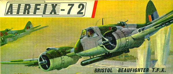Bristol Beaufighter WW11 bomber.