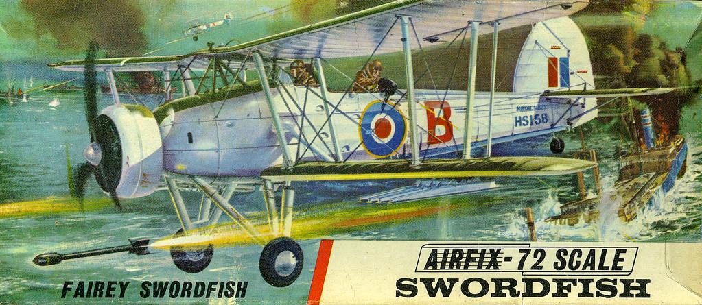 Royal Navy Swordfish torpedo bomber.