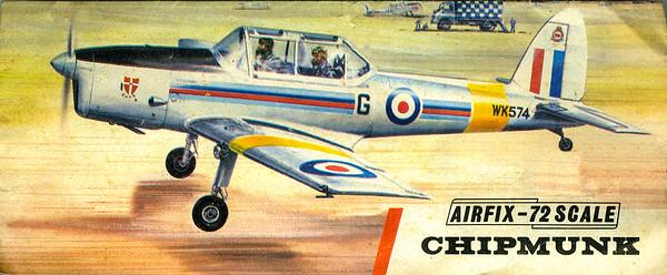 Chipmunk pilot trainer.