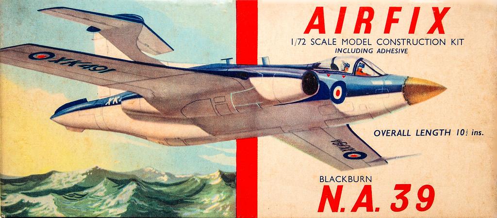 Blackburn N.A.39 bomber (Buccaneer prototype).