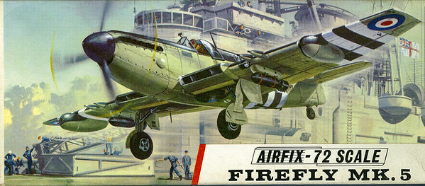 Fairey Firefly Fleet Air Arm fighter bomber.