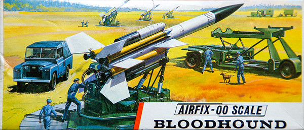 Bloodhound anti-aircraft missile.