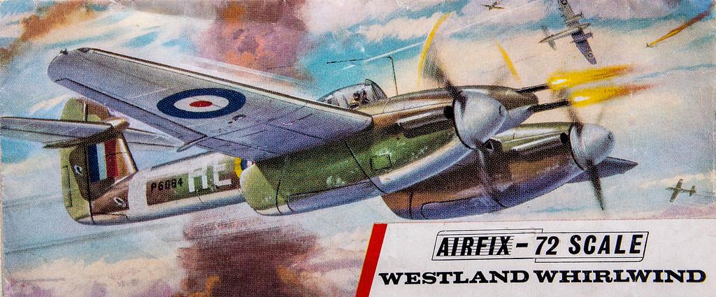 WW11 Westland Whirlwind fighter.