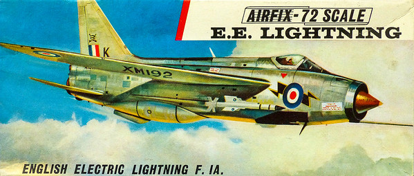 English Electric Lightning, mach 2 interceptor.