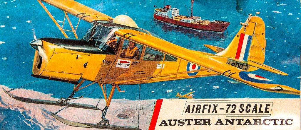 Auster Antarctic survey aircraft