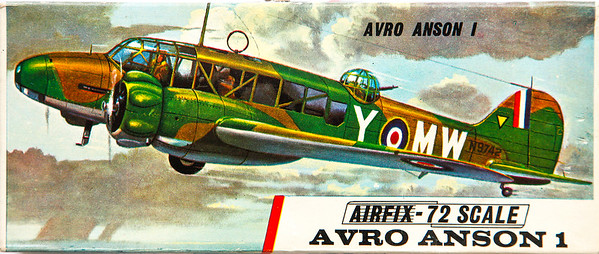Avro Anson WW11 trainer.