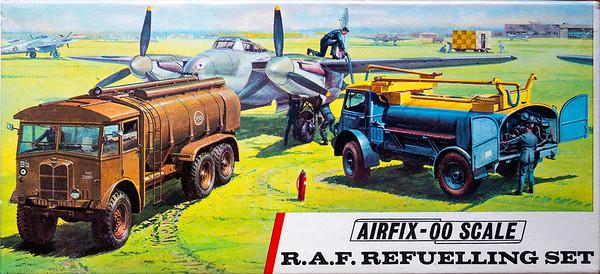 WW11 airfield refueling equipment.