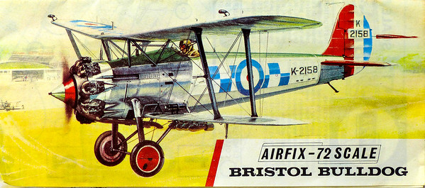 Bristol Bulldog inter-war fighter